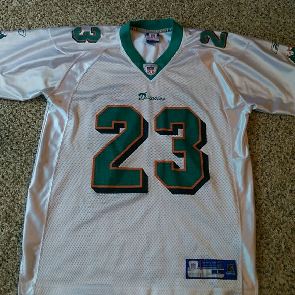 ec47cea8b Vintage Miami Dolphins Ronnie Brown Jersey. M 5b82e9057386bc92d97f4582
